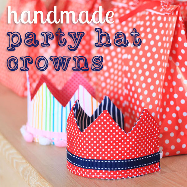 Feature image: party hat crowns
